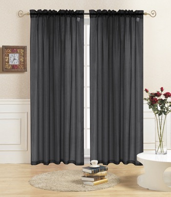 Curtains Ideas 54 inch long curtain panels : How Many Curtain Panels Do I Need? - Linen Store